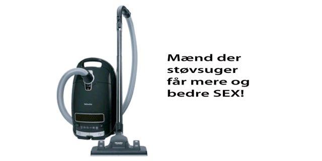 Mere og bedre sex til mænd der deltager i det huslige arbejde