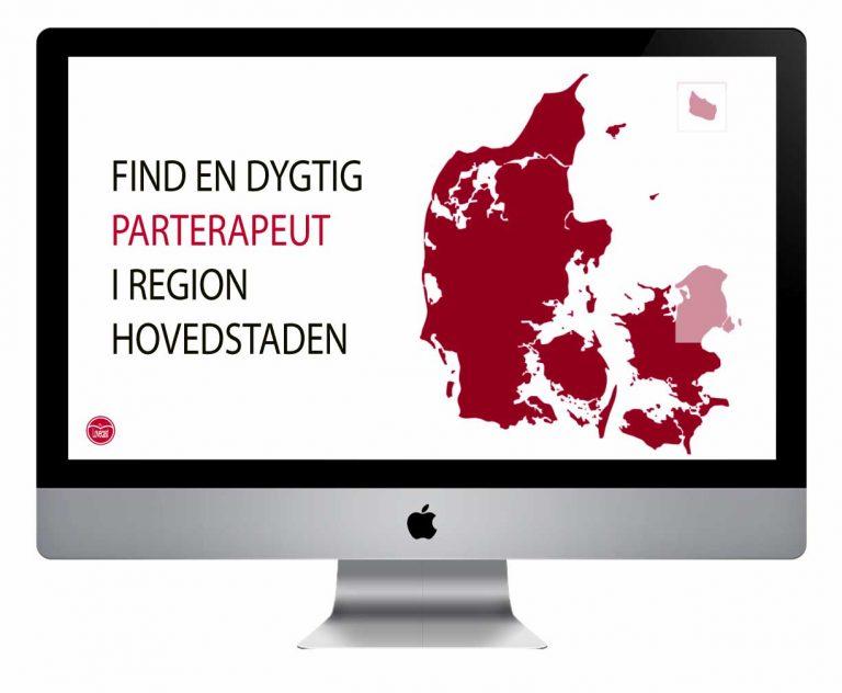 Et billede af København og hvor du finder parterapi