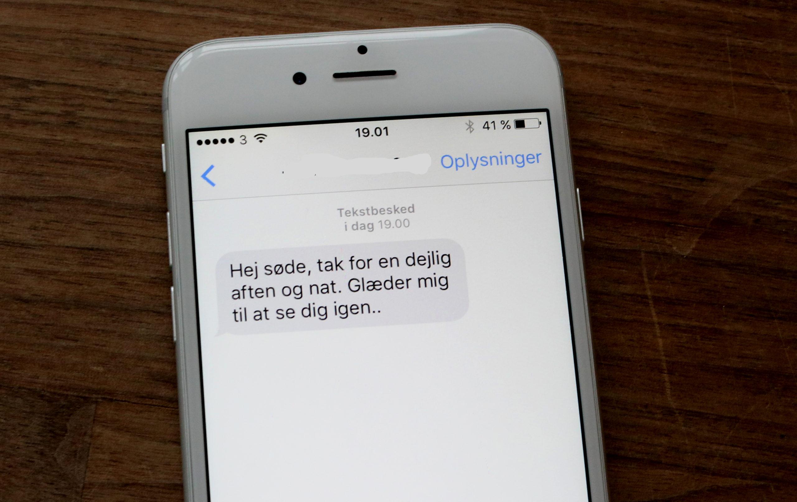 utroskab afsløres på mobiln