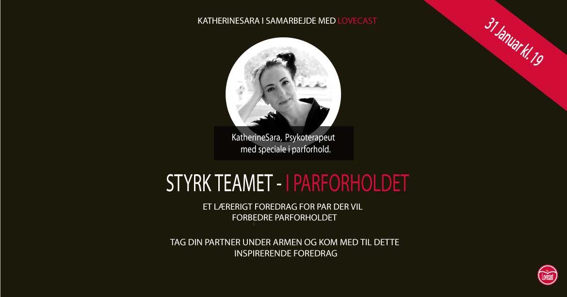 foredrag om parforhold med parterapeut kathine sara