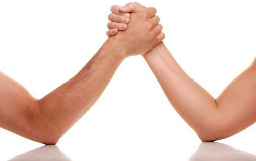 parterapi kan dæmpe lysten til magtkampe i parforholdet