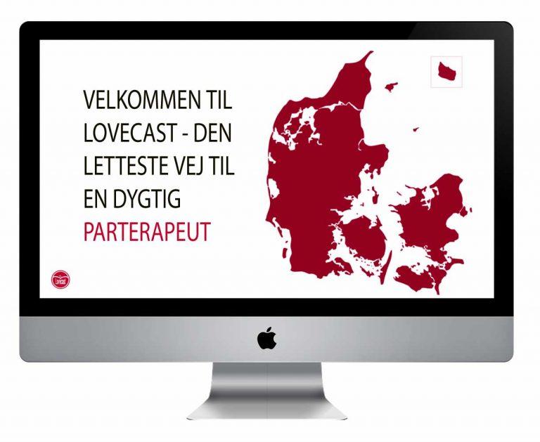 Lovecast Danmarkskort oversigt