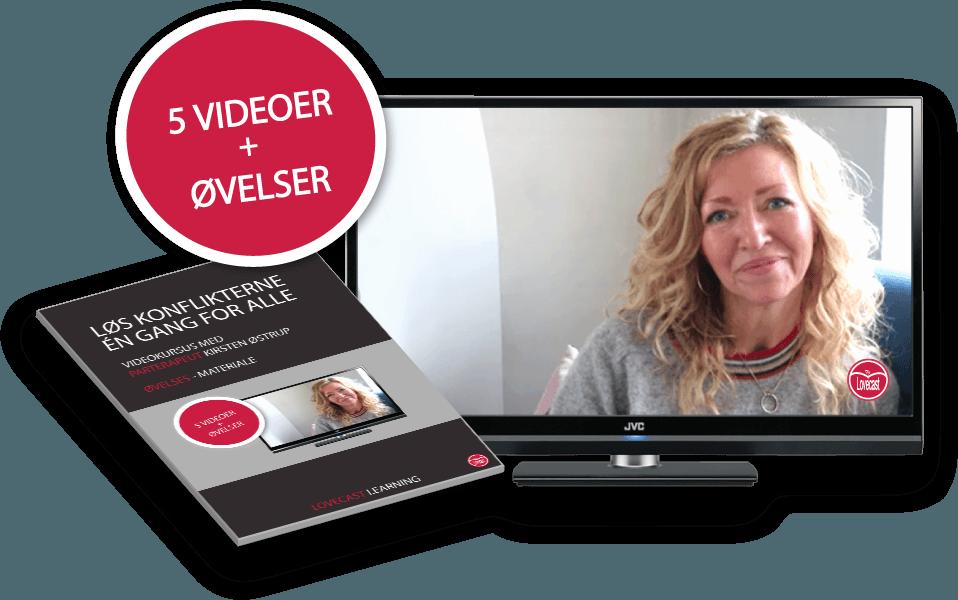 Online Kursus med Kirsten Østrup - Løs konflikterne én gang for alle