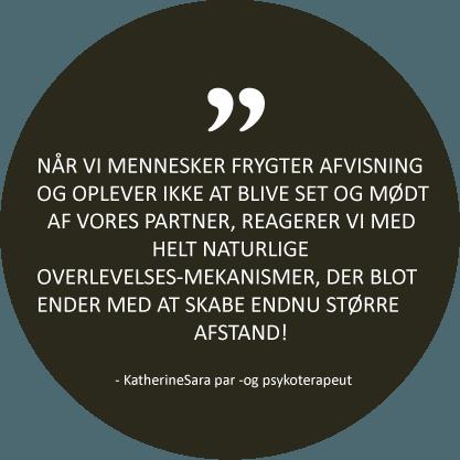 Citat fra psykoterapeut KatherineSara - parterapi i København
