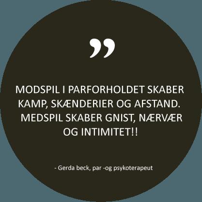 Citat fra psykoterapeut Gerda Beck - København