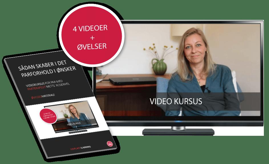 Online Kursus med Mette Rosenvel - Sådan skaber I det parforhold I ønsker