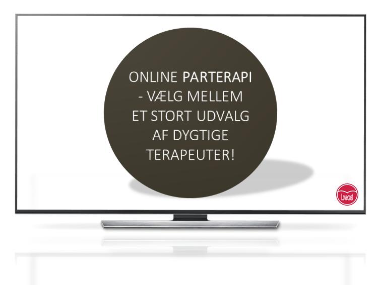 Online parterapi - parterapi i hele Danmark